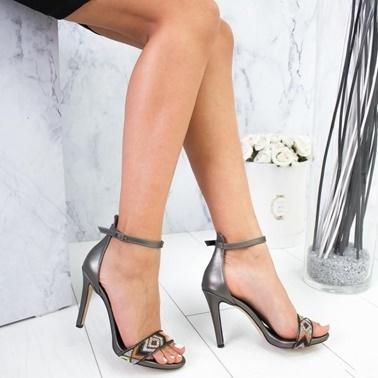 Limoya Ayakkabı Gümüş